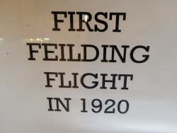 Centenary of Feilding's first aircraft flight