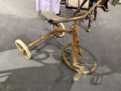 Former Mayor Caryll Clausen Tricycle