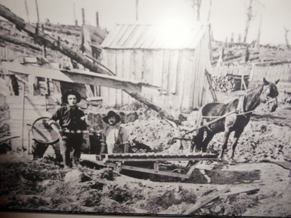 Feilding NZ Coach House museum clay mixer image